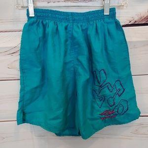 Vintage 90's Umbro running shorts S